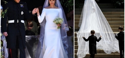 We take a look into Meghan Markle's Givenchy dress