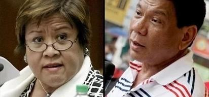 Duterte challenges De Lima: 'Change me if I'm LYING'