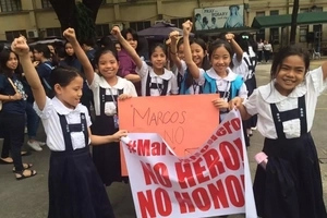 Alam ang pinaglalaban! St. Scholastica's alumnae defend bullied students who joined anti-Marcos rally