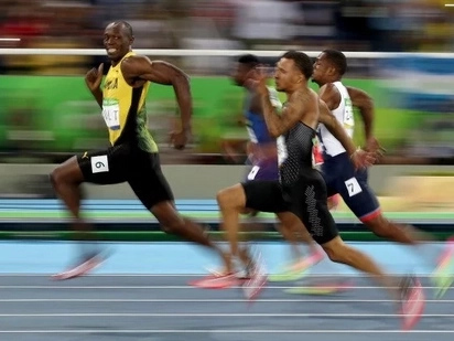 It's unbelievable, but Usain Blot, the world's fastest man, has never run a full mile