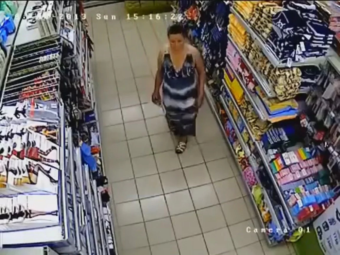 You Won't Believe Where This Woman Hid What She Stole From A Store