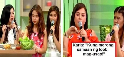Loisa Andalio finally admitted that she had a conflict with Sue Ramirez! Karla Estrada told them: 'Wag kasi agad na bina-bypass yung isa't-isa!'