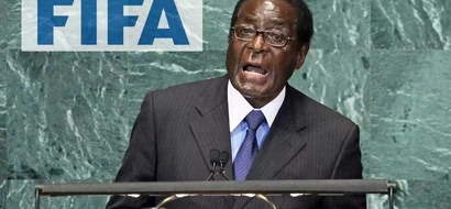 Cheers and praise as President Robert Mugabe, 92, confirms he will run for 2018 elections