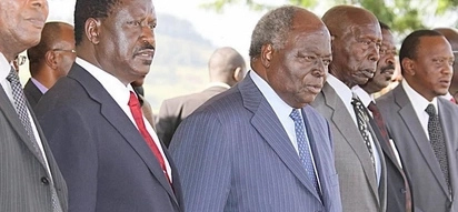 Kibaki and Moi should intervene in the current political stalemate in the country - NASA co-principal