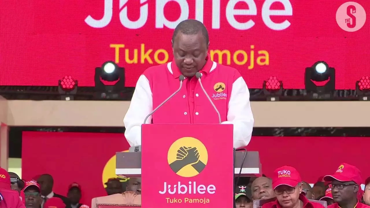 Uhuru might not be happy after Kiraitu's recent statement on Jubilee Party