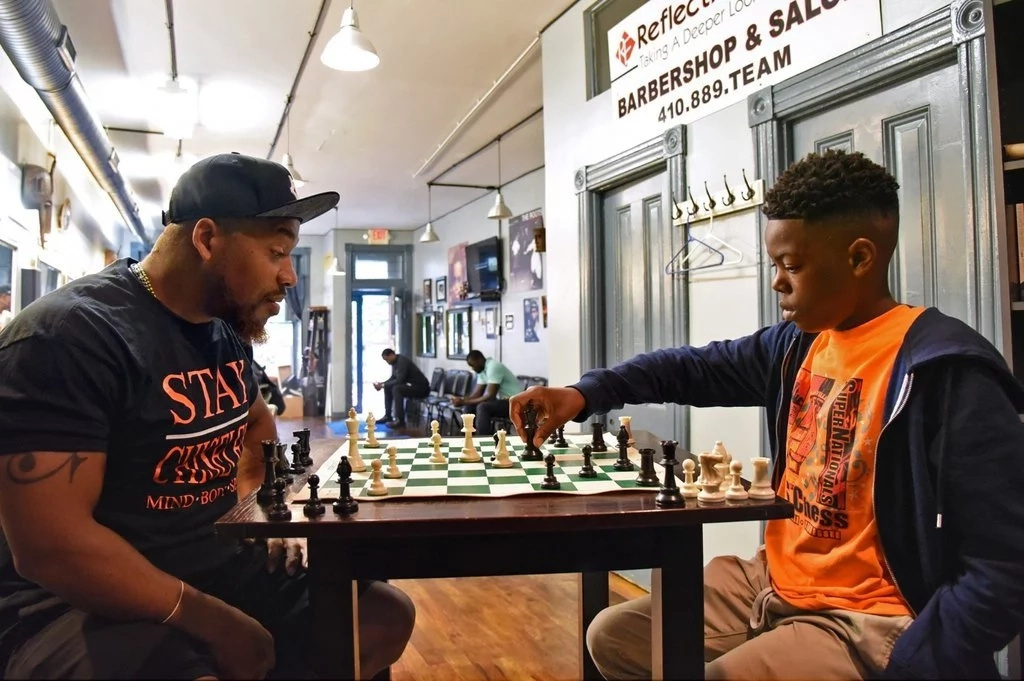 Cahree regularly practices against older opponents at a local barber shop