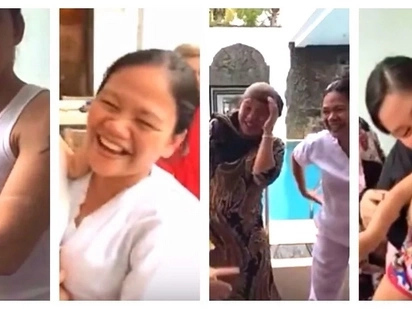 Parang kapamilya talaga! Epic video of Robin Padilla and Mariel Rodriguez's interaction with their helpers and yayas goes viral