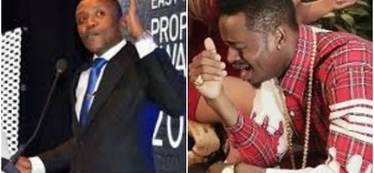 "Maina Kageni rescues singer Diamond after his ""poor"" English left him in a deep hole"