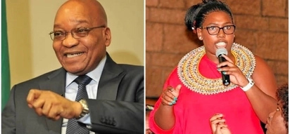 Repo men are allegedly after Jacob Zuma's fiancée for defaulting on car payments