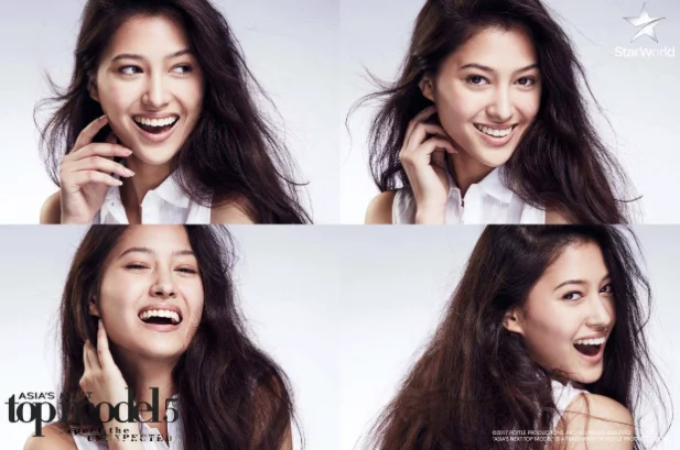 Maureen Wroblewitz is the last Filipina standing on Asia's Next Top Model Cycle 5