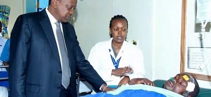 """Rais Uhuru Kenyatta alipata alama ya """"D"""" kwenye mtihani wa KCSE?"""