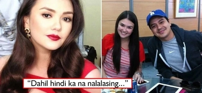 Di ako lasengga! Angelica Panganiban posts pic with 'nalalasing' caption and netizens believe she's throwing shade at ex-bf JLC