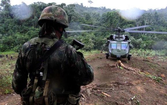 Desapareció helicóptero del Ejército