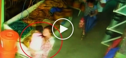 Dangerous Pinay thieves caught on CCTV using little girl to steal P80K from grocery store