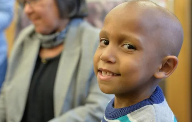 Brave Junaid is defying the odds. Photo: IOL
