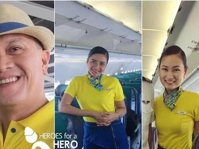 Magaling, magaling! CebPac flight attendants revive dead Italian passenger
