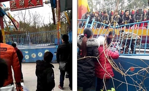 Girl, 13, dies after being flung from theme park ride