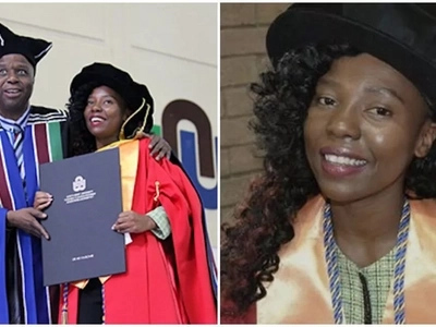 Woman, 23, becomes one of the YOUNGEST women in Africa to attain PhD degree (photos)