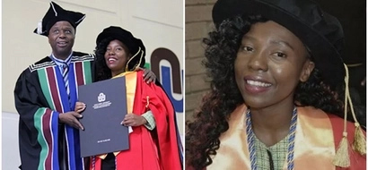 Woman, 23, becomes one of the YOUNGEST female PhD graduates in Africa (photos)