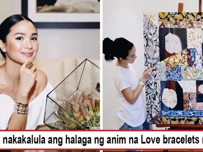 Pang-mayaman lang talaga! Heart Evangelista's Cartier bracelets knock people off their feet, just one of 'em babies is enough to buy a house and lot
