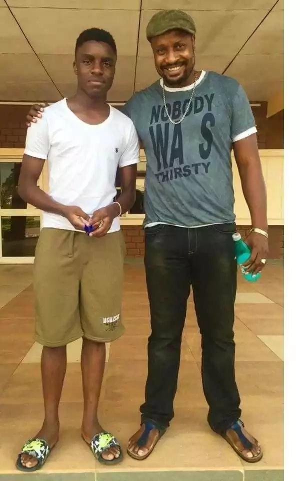 Antony Chinedu atoa sababu ya kumuita mtoto wake Raila Odinga Junior