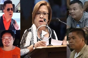 Bakbakan sa Kongreso! Notorious Bilibid convicts pin down embattled De Lima