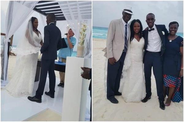 Citizen TV's Fred Obachi Machoka JETS to MEXICO for son's beach WEDDING