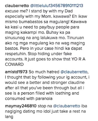 "Claudine Barretto claps back at rude commenters: ""Leave our family alone!"""