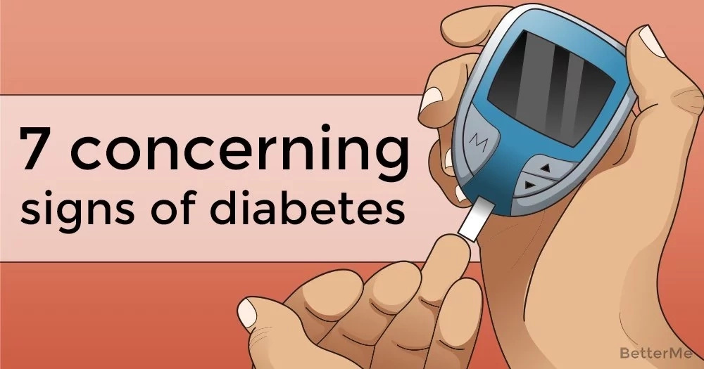 7 concerning signs of diabetes