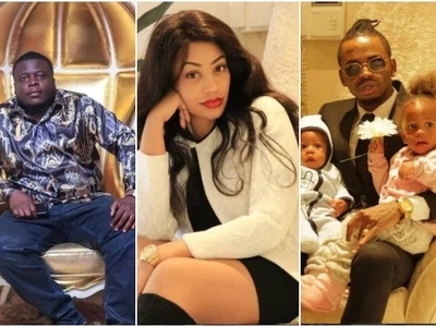 Diamond Platinumz message after death of his wife's ex-husband leaves many confused