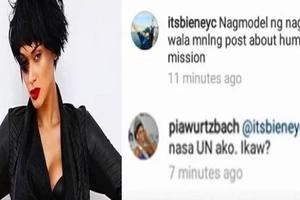 Aray ko po! Savage Pia bashes netizen who criticized her IG post