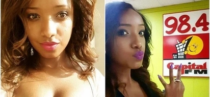 Capital FM's Anitah Nderu induces lust with her revealing bikini photo