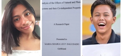 "Paandar! High school student gives girlfriend a ""thesis"" of their relationship for 3rd anniversary"