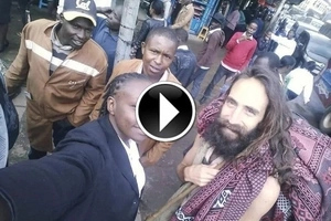 Christ had returned: Man who looks exactly like Jesus was spotted in Nairobi