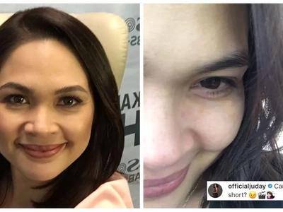 Para kay Mrs. Reyes! Judy Ann Santos chops off her locks for her upcoming film with Angelica Panganiban