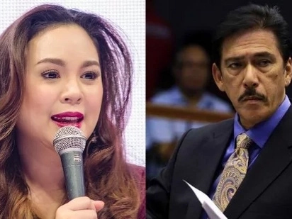 Claudine Barretto has a winning message to her ninong Tito Sotto about his controversial remark