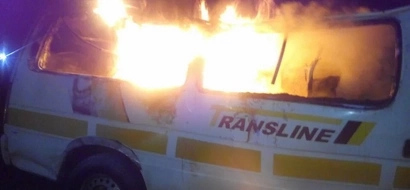 9 people burnt to death in a matatu near Mai Mahiu (photos)