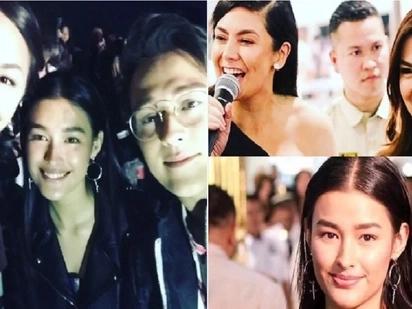 Liza Soberano hangs out with veteran beauties, actresses