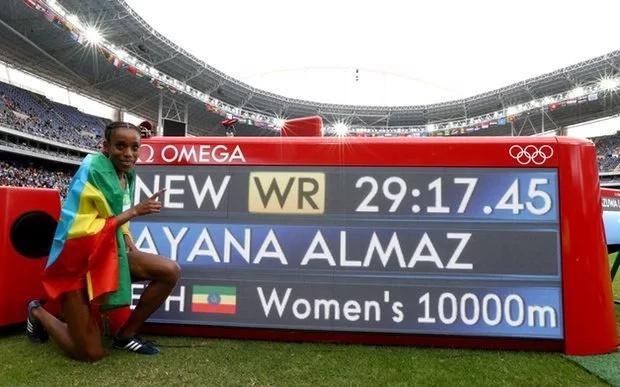Vivian Cheruiyot bags Kenya's first medal at the Rio Olympics