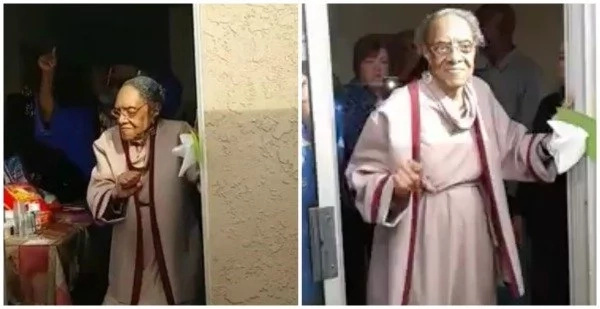 This video of 100-year-old great-grandma DANCING to Bruno Mars will make your day (photos, video)