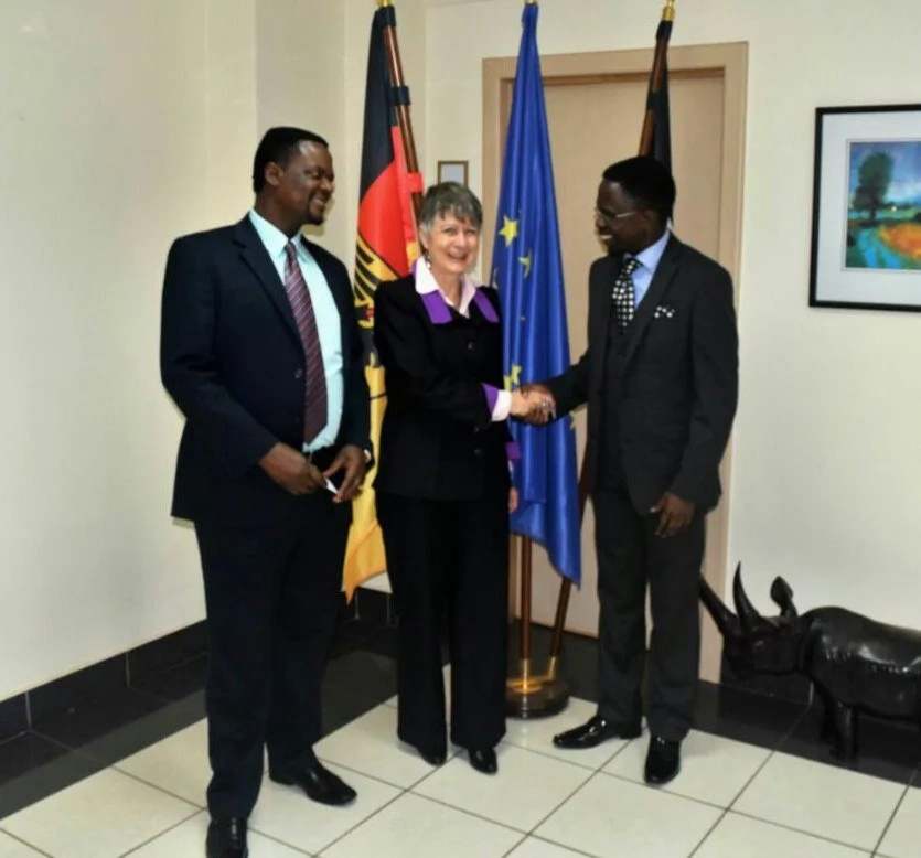 Namwamba seeks Germany's help to boost third political force