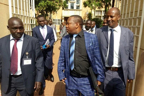 Mike Sonko and Evans Kidero exchange blows