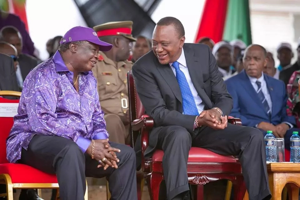 Deputy President William Ruto with a CHEEKY jibe at opposition during Labor day celebrations
