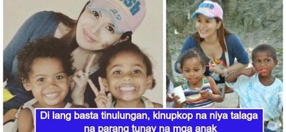 Pinay Single mom, nangunguna sa pagtulong sa mga kababayan nag-ampon pa ng 2 batang aeta
