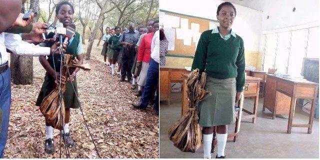 Kenyan girl who made shopping bag from banana fritters appointed Environment Ambassador
