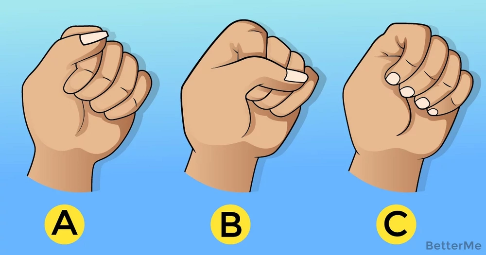 The way you make a fist can say something about your personality
