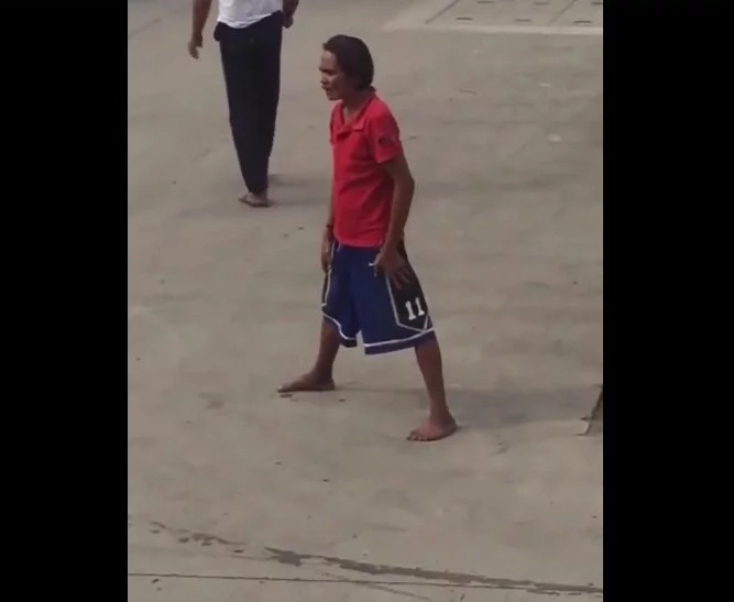 Dancing Pinoy went viral after netizen uploaded his video