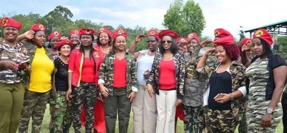 Military fatigue-wearing Jubilee Women's Brigade absolved of voter intimidation accusations, details