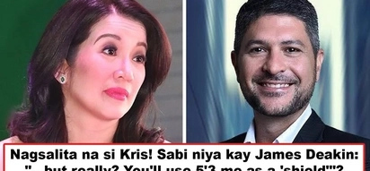 Maging responsable ka naman! Kris Aquino reacts to James Deakin who used her as 'shield' against netizens' backlash over photo with Bongbong Marcos