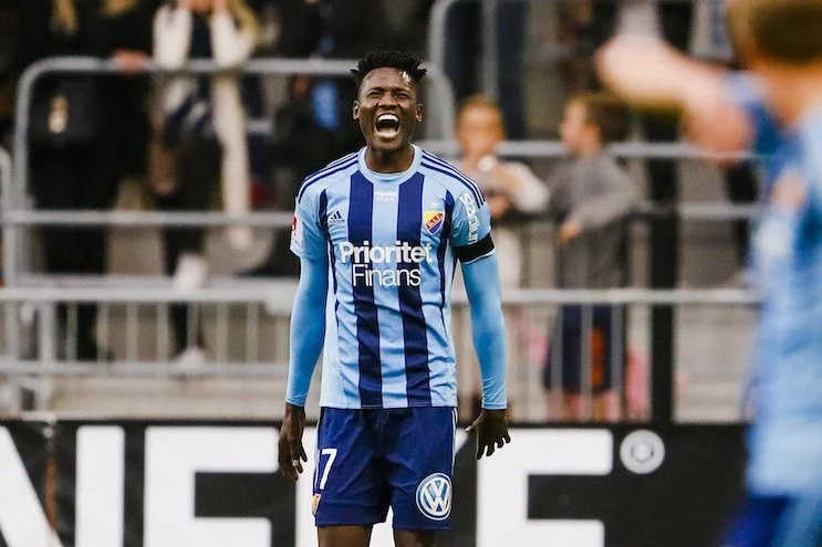 Micheal Olunga shines again in Sweden